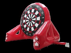 maatwerk opblaas attractie dartboard
