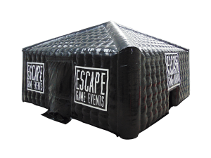 opblaasbare escape room tent