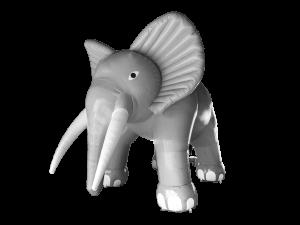 olifant opblaasbaar maatwerk