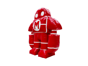 opblaasbaar logo mascotte maatwerk